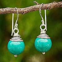 Calcite dangle earrings,