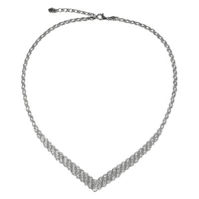 Artisan Made Sterling Silver Ball Chain Necklace