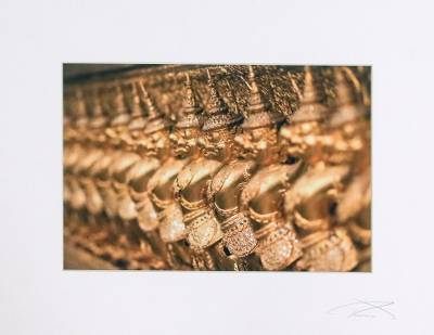 'Golden Guardians' - Original Photo Print of Golden Guardians in Bangkok
