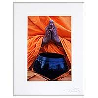 'Blessing' - Color Photograph Print of Hands Clasped in Prayer