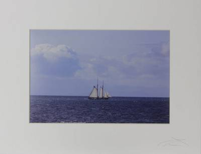 'Serenity' - Original Signed Color Photograph of Seascape