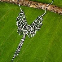 Sterling Silver Necklace Deer Pliers (mexico)