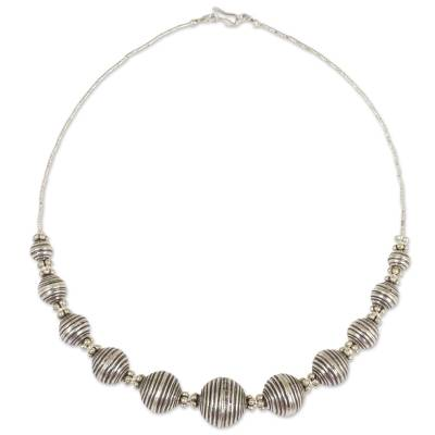950 Silver Necklace Karen Hill Tribe Style Thai Jewelry