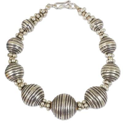 950 Silver Bracelet Karen Hill Tribe Style Thai Jewelry