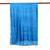 Silk scarf, 'Shimmering Cyan' - Hand Woven Fringed Silk Scarf in Cyan from Thailand (image 2e) thumbail