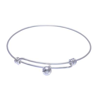 925 Sterling Silver Simple Charm Bracelet from Thailand