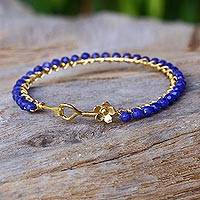 Gold plated quartz bangle bracelet,