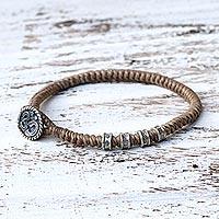Silver wristband bracelet,