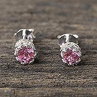 Tourmaline stud earrings,