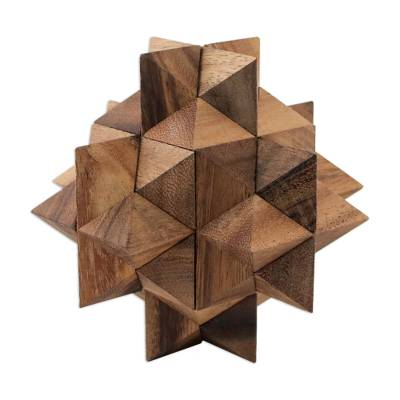Raintree Wood 3D Puzzle from Thailand