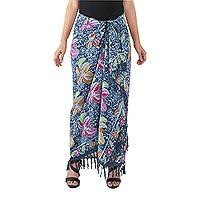 Batik cotton sarong,