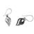 Sterling silver dangle earrings, 'Elegant Touch' - Shining Sterling Silver Dangle Earrings from Thailand (image 2d) thumbail