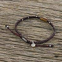 Featured review for Jasper macrame cord bracelet, Earth Saver