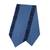 Cotton table runner, 'Contemporary in Midnight' - Blue Cotton Table Runner Handmade in Thailand (image 2a) thumbail