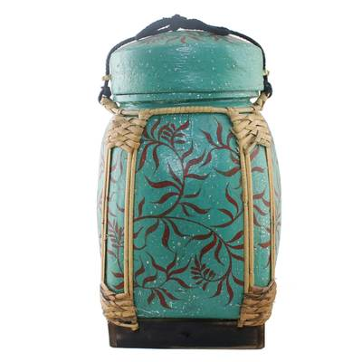 Decorative Jar in Green from Thailand