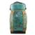 Bamboo and clay decorative jar, 'Tropical Plant in Green' - Decorative Jar in Green from Thailand (image 2a) thumbail