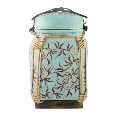 Decorative Jar in Robin