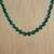 Quartz beaded necklace, 'Jungle Strand' - Green Quartz Beaded Necklace from Thailand (image 2b) thumbail