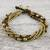 Tiger's eye beaded torsade bracelet, 'Elegant Celebration' - Tiger's Eye Adjustable Beaded Bracelet from Thailand (image 2b) thumbail