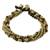 Tiger's eye beaded torsade bracelet, 'Elegant Celebration' - Tiger's Eye Adjustable Beaded Bracelet from Thailand (image 2c) thumbail