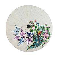 Featured review for Saa paper parasol, Peacock and Flowers