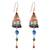 Multi-gemstone chandelier earrings, 'Marvelous Rain' - Multi-Gemstone Chandelier Earrings Crafted in Thailand (image 2a) thumbail