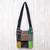 Cotton sling, 'Hmong Culture' - Thai Hill Tribe Cotton Sling Tote Bag with Patchwork Design thumbail