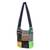 Cotton sling, 'Hmong Culture' - Thai Hill Tribe Cotton Sling Tote Bag with Patchwork Design (image 2a) thumbail