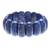 Lapis lazuli beaded stretch bracelet, 'Just Glow' - Lapis Lazuli Stretch Bracelet from Thailand (image 2a) thumbail