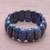 Lapis lazuli beaded stretch bracelet, 'Just Glow' - Lapis Lazuli Stretch Bracelet from Thailand (image 2c) thumbail