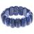 Lapis lazuli beaded stretch bracelet, 'Just Glow' - Lapis Lazuli Stretch Bracelet from Thailand (image 2d) thumbail