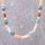 Multi-gemstone beaded long necklace, 'Thai Beauty' - Multi-Gemstone Beaded Long Necklace from Thailand thumbail