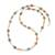 Multi-gemstone beaded long necklace, 'Thai Beauty' - Multi-Gemstone Beaded Long Necklace from Thailand (image 2c) thumbail