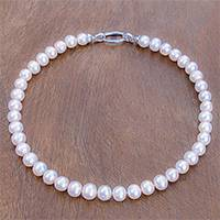 Featured review for Cultured pearl beaded necklace, Fantastic Glow