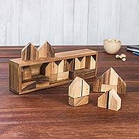 Wood game,