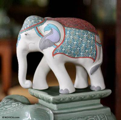 Ceramic statuette