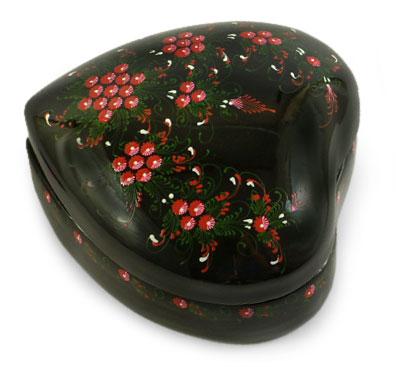 Lacquered Mango Wood Decorative Box