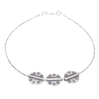 Hill Tribe Fine Silver Anklet