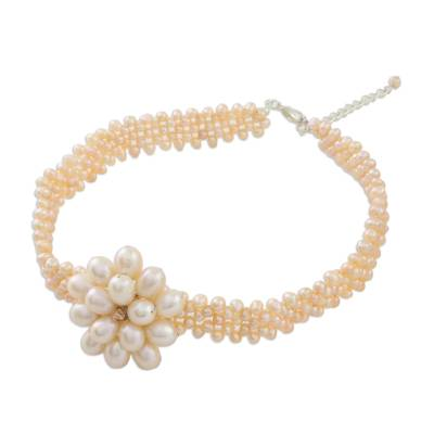 Bridal Pearl Choker Necklace