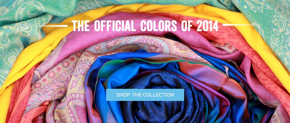 The Official Colors Of 2014 - Shop The Collection