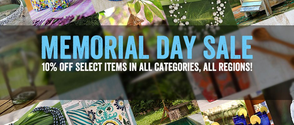 10% off select items in all categories, all regions!