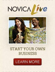 Novica Live - Start Your Own Business - Learn More