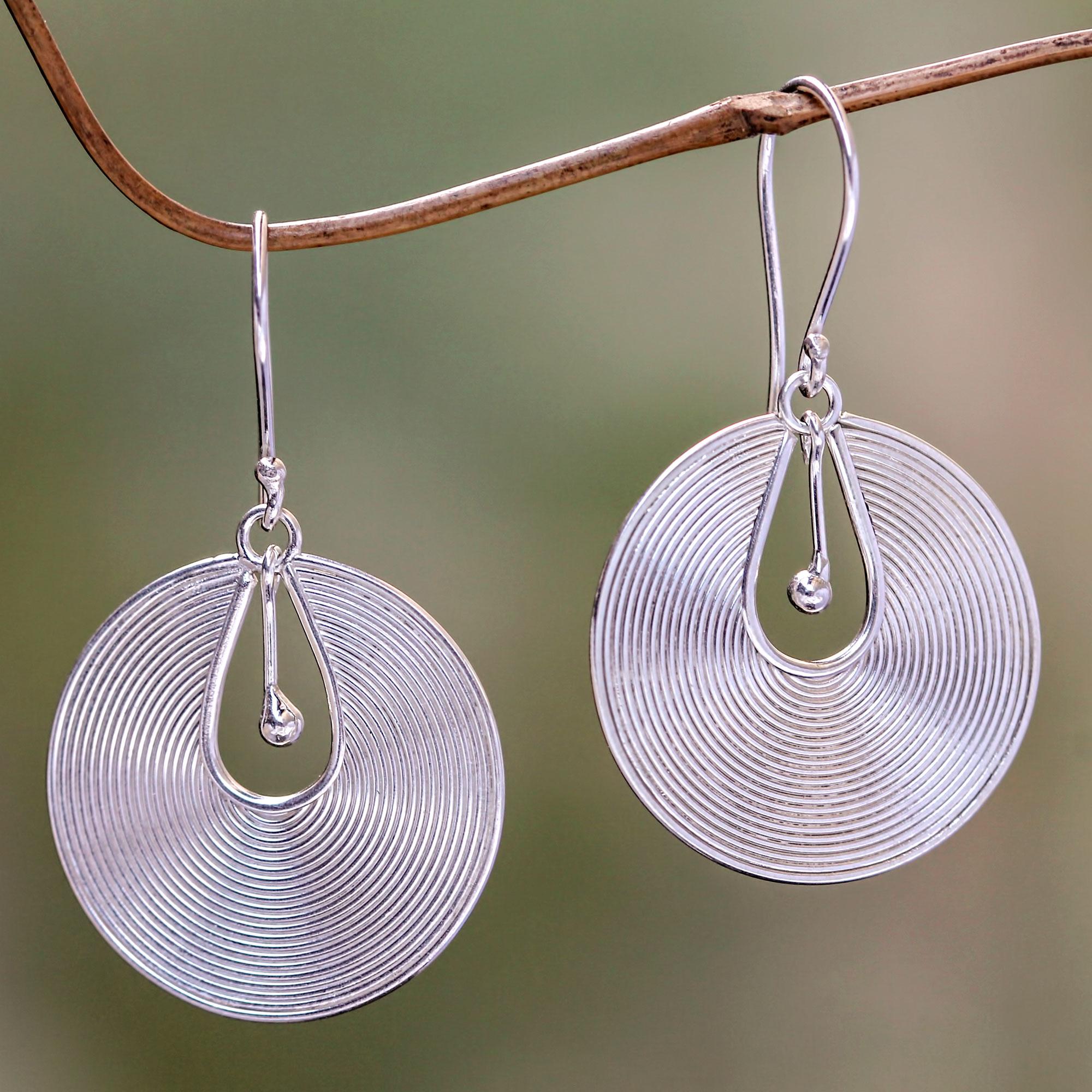 Sterling Silver Dangle Earrings Idea