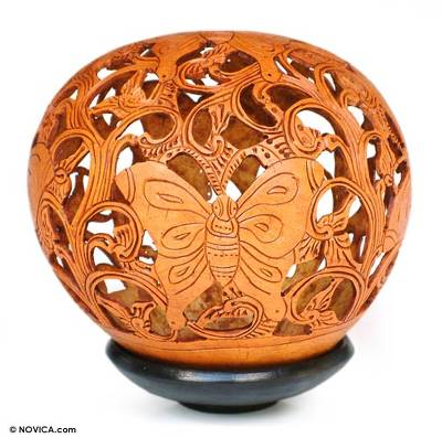 Coconut Shell Carving