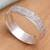 Men's sterling silver ring, 'Raw' - Men's Modern Sterling Silver Band Ring (image 2) thumbail