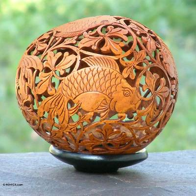 Artisan Crafted Coconut Shell