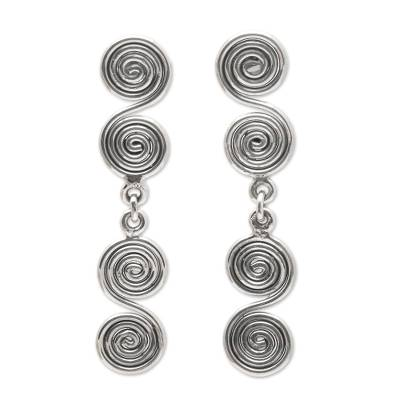 Sterling Silver Dangle Earrings from Indonesia