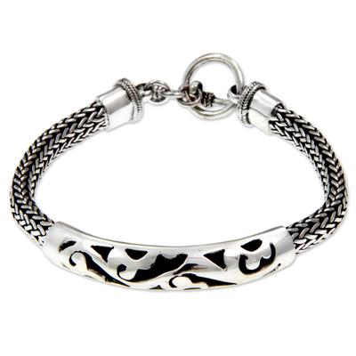 Handcrafted Sterling Silver Bracelet