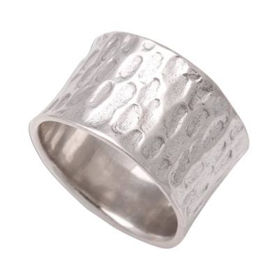Men's sterling silver ring, 'The Original' - Men's Sterling Silver Ring