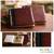 Natural fiber photo albums, 'Eco-Friendly Brown' (medium, pair) - Natural Fiber Photo Albums (Pair) thumbail